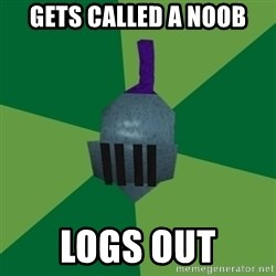 Runescape Advice - gets called a noob logs out