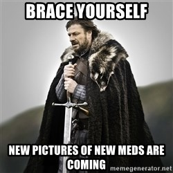 Game of Thrones - Brace yourself New Pictures of new meds are coming