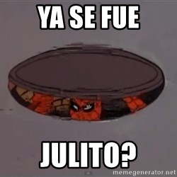 Spiderman in Sewer - ya se fue julito?