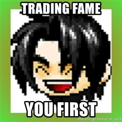 Maple Noob - Trading fame you first