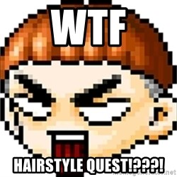 Maple Noob - wtf Hairstyle quest!???!