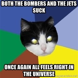 Winnipeg Cat - both the bombers and the jets suck once again all feels right in the universe