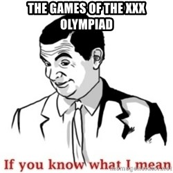 Mr.Bean - If you know what I mean - The Games of the xxx olympiad