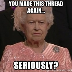 the queen olympics - you made this thread again... seriously?