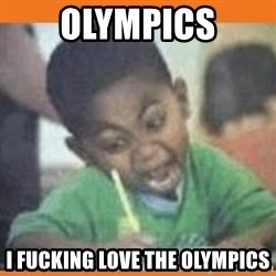 I FUCKING LOVE  - olympics i fucking love the olympics