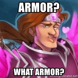 Pink Taric - Armor? What armor?