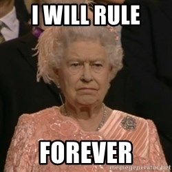 The Olympic Queen - i will rule forever