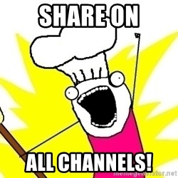 BAKE ALL OF THE THINGS! - Share on All channels!