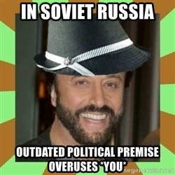 RussianFedora - In soviet russia outdated political premise overuses *you*