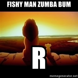 Simba - FISHY MAN ZUMBA BUM r