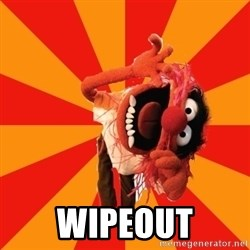 Animal Muppet -  WIPEOUT