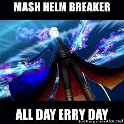 UMVC3 Vergil - mash helm breaker all day erry day