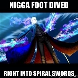 UMVC3 Vergil - nigga foot dived right into spiral swords