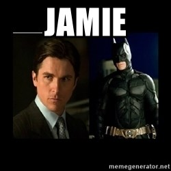 Batman's voice  - jamie