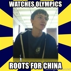 Backstabbing Billy - Watches olympics roots for china