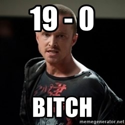 Jesse Pinkman says Bitch - 19 - 0  BITCH
