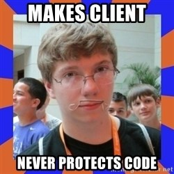 LOL HALALABOOS - Makes Client  never protects code