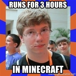 LOL HALALABOOS - Runs for 3 hours  in minecraft
