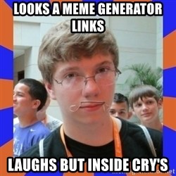 LOL HALALABOOS - looks a meme generator links  laughs but inside CRY's