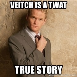Neil Patrick Harris - veitch is a twat true story