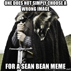Sean Bean Game Of Thrones - one does not simply choose a wrong image for a sean bean meme