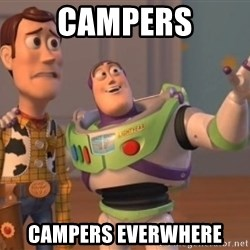 ToyStorys - Campers Campers everwhere