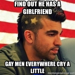 Nasa Mohawk Guy - Find out he has a girlfriend gay men everywhere cry a little