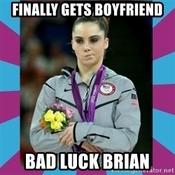 Makayla Maroney  - Finally Gets Boyfriend Bad Luck BRian