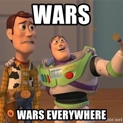Anonymous, Anonymous Everywhere - wars wars everywhere