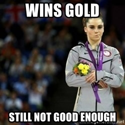 unimpressed McKayla Maroney 2 - wins gold still not good enough