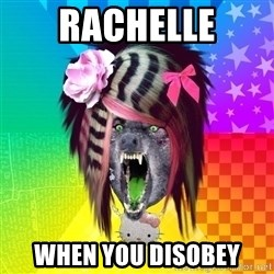 Insanity Scene Wolf - rachelle when you disobey