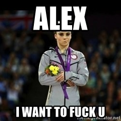 Unimpressed McKayla Maroney - Alex i want to fuck u