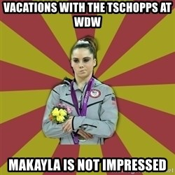 Not Impressed Makayla - VAcations with the Tschopps at WDW MAkayla is not impressed