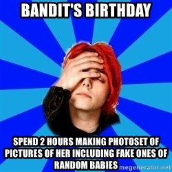 imforig - Bandit's birthday spend 2 hours making photoset of pictures of her including fake ones of random babies