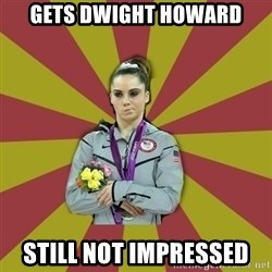 Not Impressed Makayla - Gets Dwight howard still not impressed