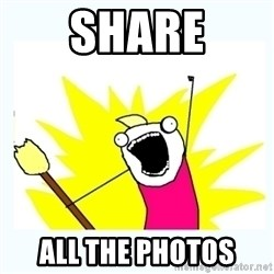 All the things - Share all the photos