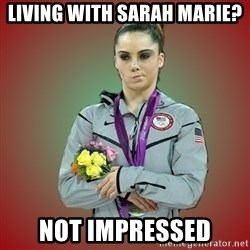 Makayla - Living with sarah marie? not impressed