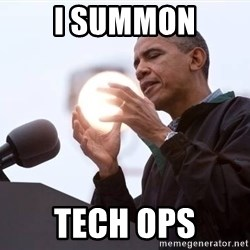 Wizard Obama - I SUMMON TECH OPS