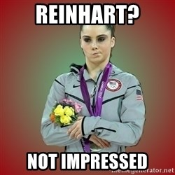 Makayla - reinhart? Not Impressed