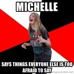 TPC SHIT - michelle says things everyone else is too afraid to say
