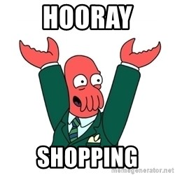 Hooray Zoidberg - HOORAY SHOPPING