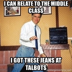 Mom Jeans Mitt - I can relate to the middle class I got these jeans at Talbots
