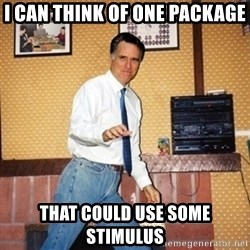 Mom Jeans Mitt - I can think of one package that could use some stimulus