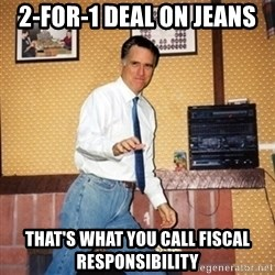 Mom Jeans Mitt - 2-for-1 DEAL ON jeans That's what you call fiscal responsibility