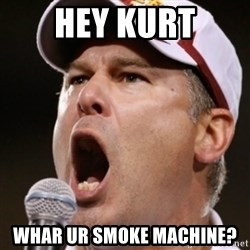 Pauw Whoads - Hey Kurt Whar UR smoke machine?