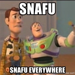 Buzz - snafu snafu everywhere