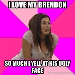 Big Brother: Rachel Reilly - I LOVE MY BRENDON SO MUCH I YELL AT HIS UGLY FACE