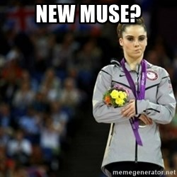 unimpressed McKayla Maroney 2 - New muse?