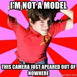 Model Immortal - I'M NOT A MODEL THIS CAMERA JUST APEARED OUT OF NOWHERE