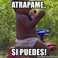 Swagger Baby - atrapame.. si puedes!
